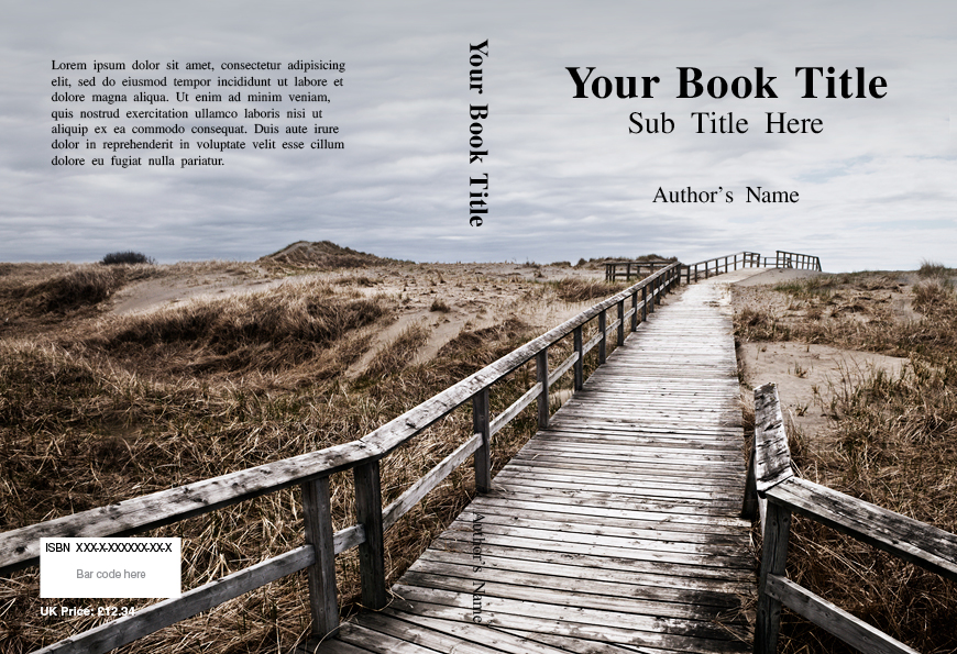 Book Cover Template Uk : Book cover templates printing online
