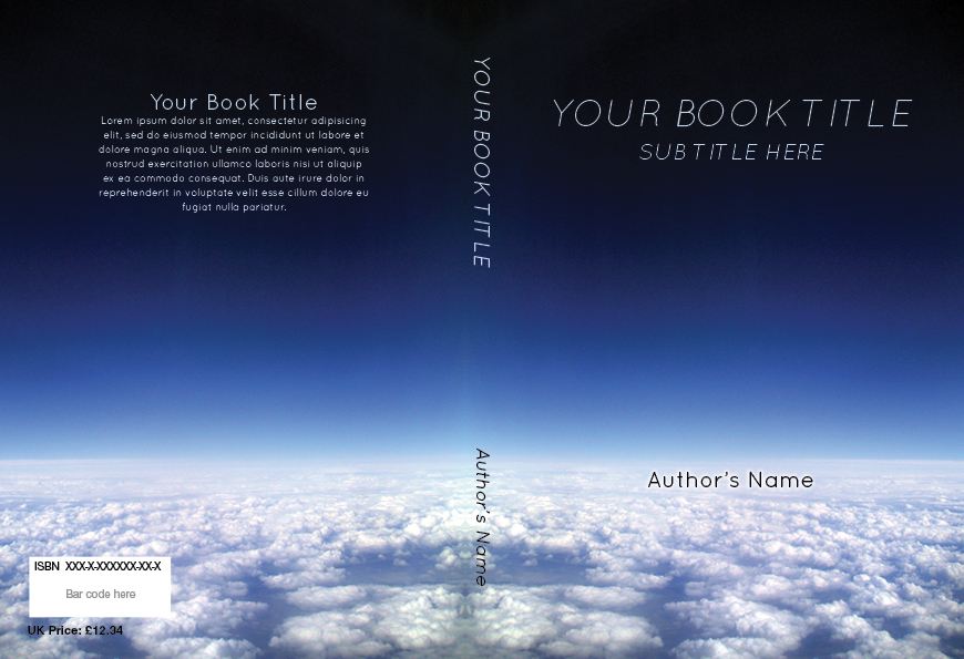 book cover templates
